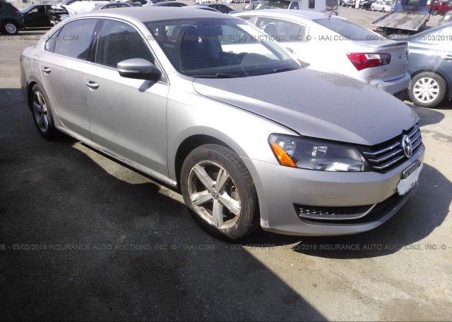 Inventory #698906904 2012 Volkswagen PASSAT