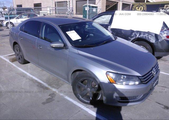 Inventory #214624444 2012 Volkswagen PASSAT