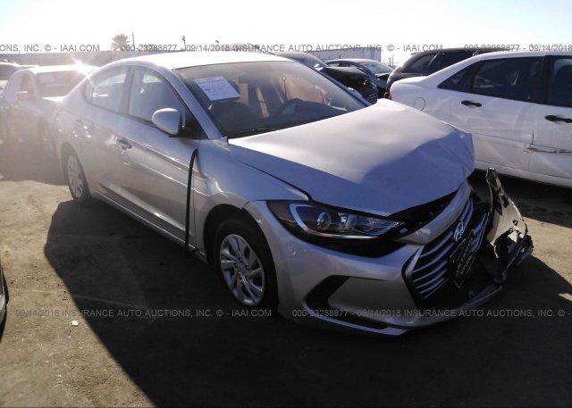 Inventory #849591174 2018 Hyundai ELANTRA