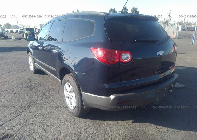 купить 2011 CHEVROLET TRAVERSE 1GNKRFED4BJ402623