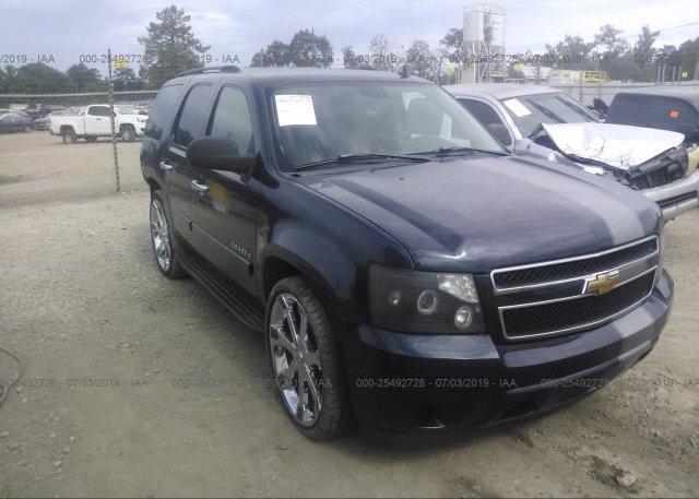 Inventory #354042260 2007 Chevrolet TAHOE