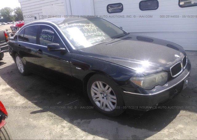 Inventory #754752021 2003 BMW 745