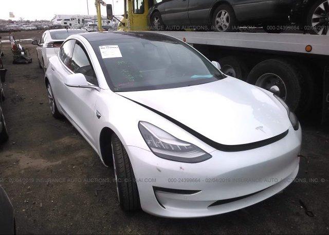 Inventory #907010925 2018 Tesla MODEL 3