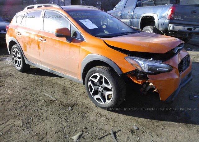 Orange Subaru Crosstrek >> Jf2gtalc0j8240784 Salvage Orange Subaru Crosstrek At Saint