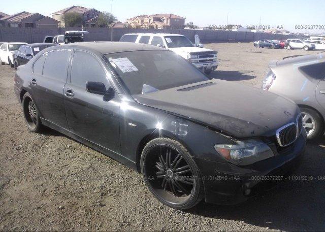 Inventory #994075421 2007 BMW 750