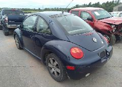 2001 Volkswagen NEW BEETLE - 3VWDD21C11M435227 [Angle] View
