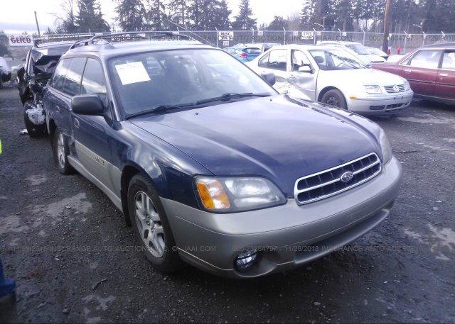 Inventory #688602901 2000 Subaru LEGACY
