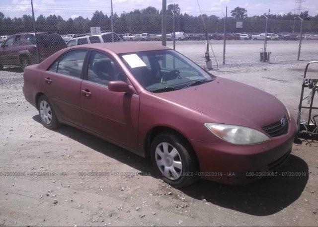 Inventory #429962891 2003 Toyota CAMRY