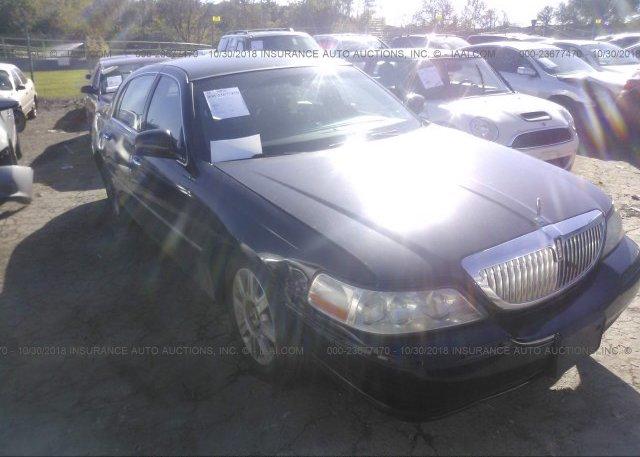 2lnbl8cv8bx764166 Salvage Title Black Lincoln Town Car At