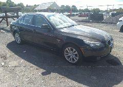 2009 BMW 535 - WBANV93509C133952 Left View