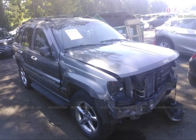 Inventory #986323983 2002 JEEP GRAND CHEROKEE