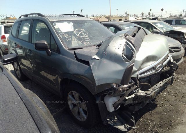 Inventory #870633885 2015 Subaru FORESTER