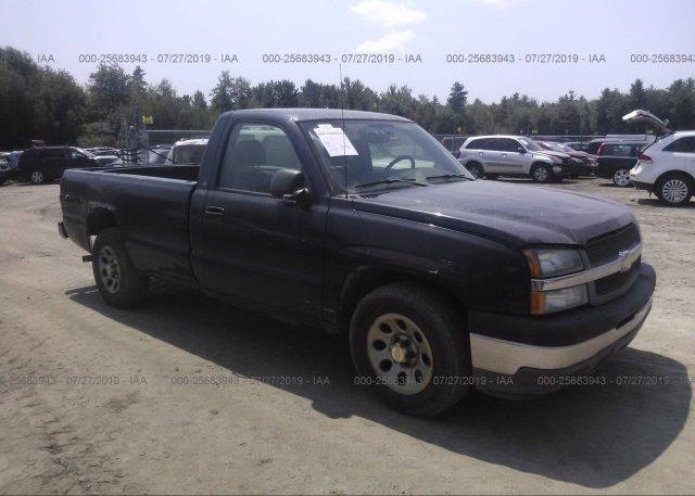 Inventory #537926939 2005 Chevrolet SILVERADO