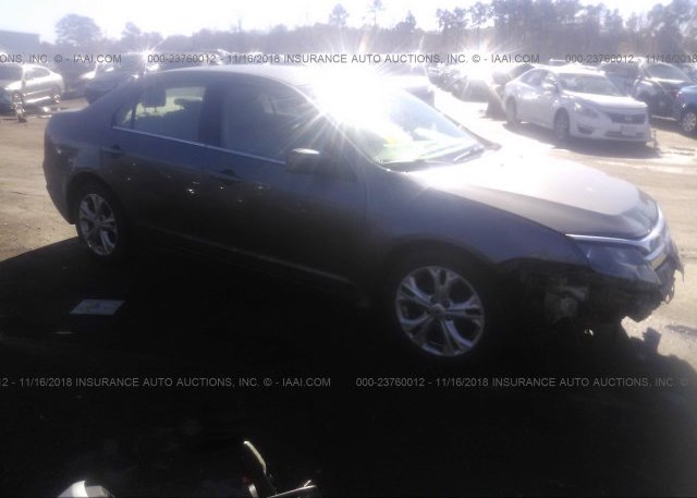 Inventory #399559267 2012 FORD FUSION