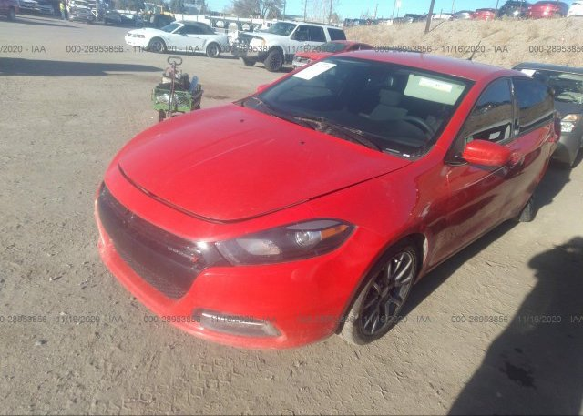 из сша 2016 DODGE DART 1C3CDFAA2GD661421