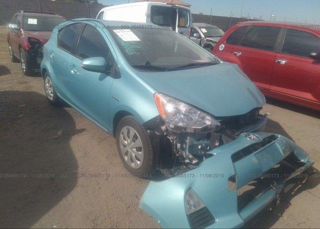 Inventory #100224446 2013 Toyota PRIUS C
