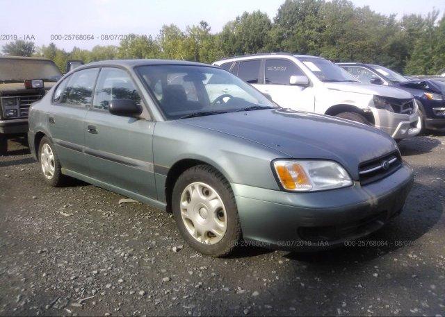 Inventory #765087784 2002 Subaru LEGACY