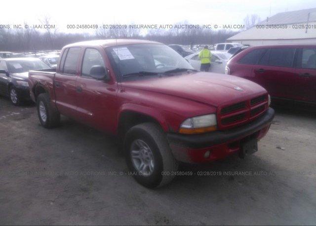 Inventory #684440446 2001 Dodge DAKOTA