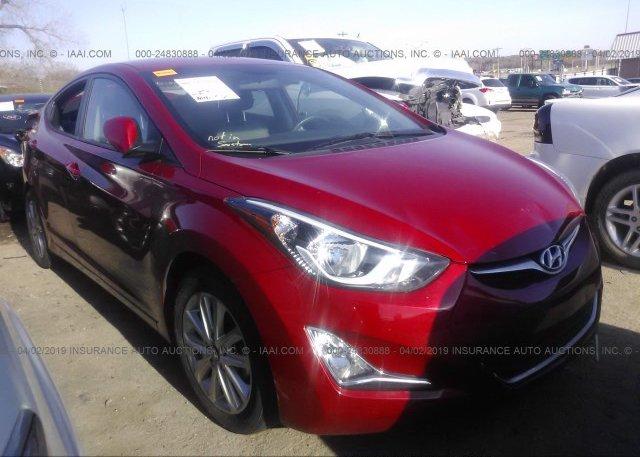 Inventory #425890248 2016 Hyundai ELANTRA