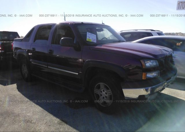 Inventory #289847992 2004 Chevrolet AVALANCHE