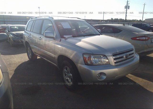 Inventory #598996767 2005 Toyota HIGHLANDER