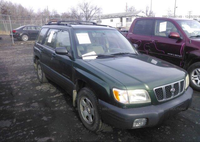 Inventory #632062397 2002 Subaru FORESTER