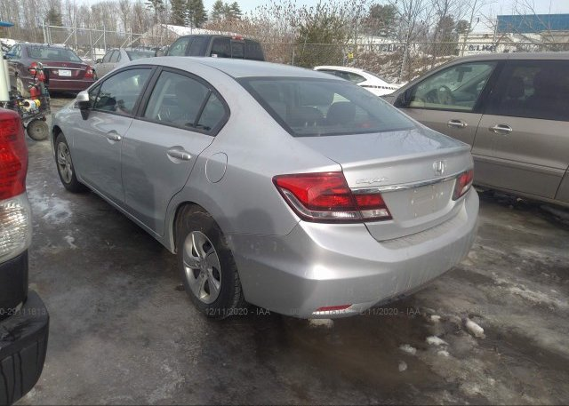 купить 2014 HONDA CIVIC SEDAN 2HGFB2F54EH552740