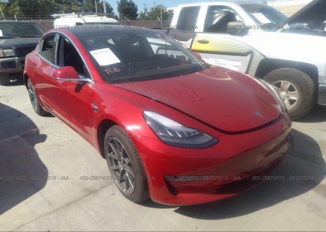 Inventory #350991805 2018 Tesla MODEL 3