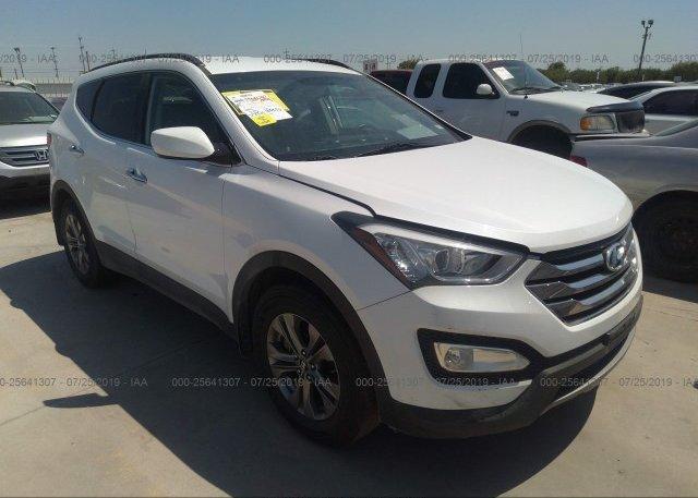 Inventory #135172111 2013 Hyundai SANTA FE SPORT