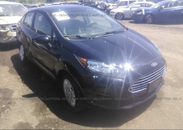 Inventory #271378480 2016 FORD FIESTA