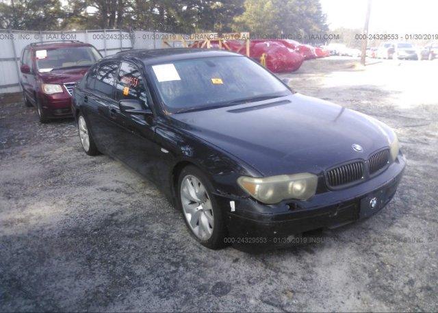 Inventory #588604035 2003 BMW 745