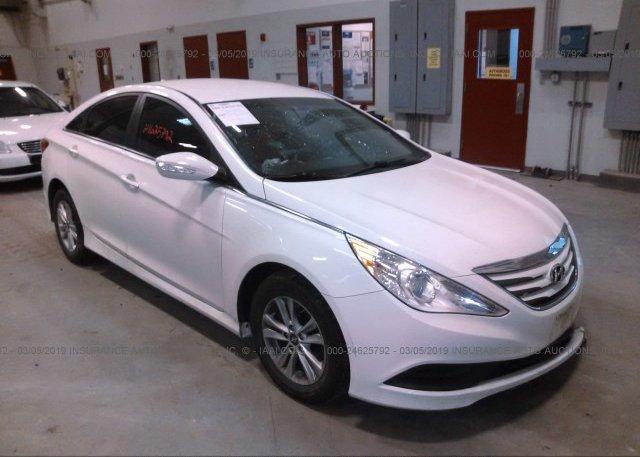 Inventory #284001142 2014 Hyundai SONATA