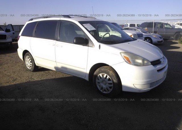 Inventory #615734179 2005 Toyota SIENNA