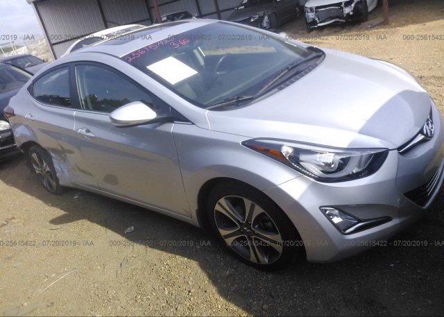 Inventory #624845028 2015 Hyundai ELANTRA