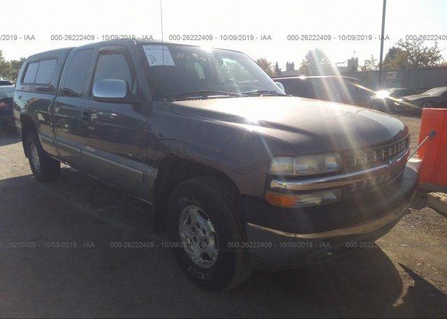 Inventory #928037631 2002 Chevrolet SILVERADO