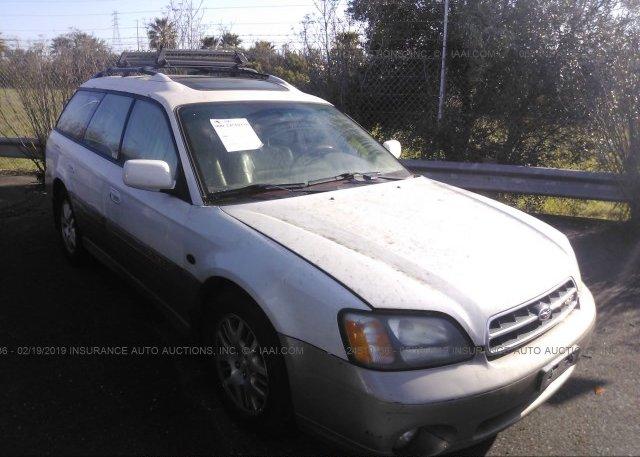 Inventory #260566445 2002 Subaru LEGACY