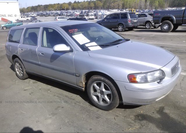 YV1SW61R722244740, silver Volvo V70 at LAKE CITY, GA on