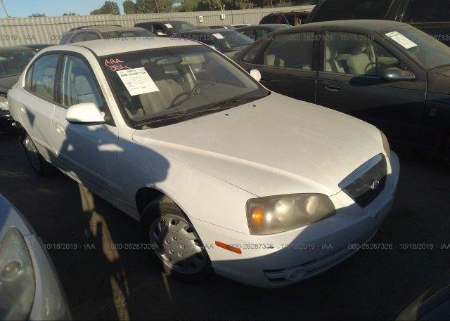 Inventory #524833762 2004 Hyundai ELANTRA