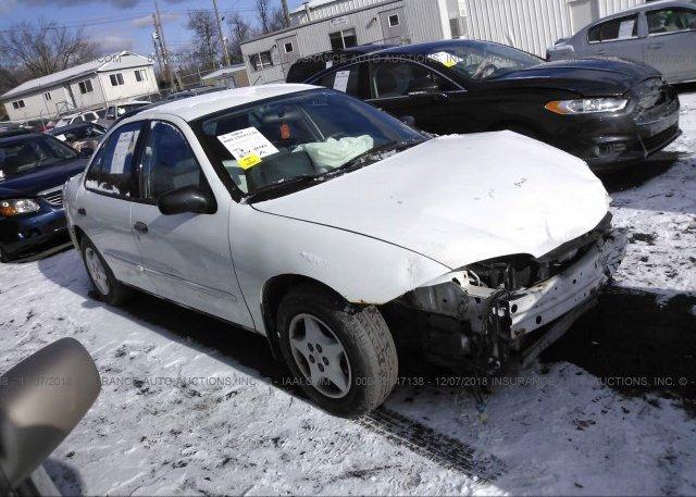 Inventory #395685240 2004 Chevrolet CAVALIER
