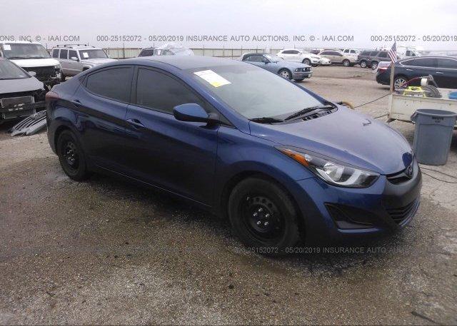 Inventory #685554382 2016 Hyundai ELANTRA