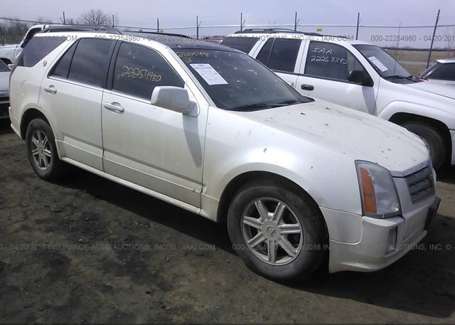 1gyee637040164352 Salvage White Cadillac Srx At Fargo Nd On Online