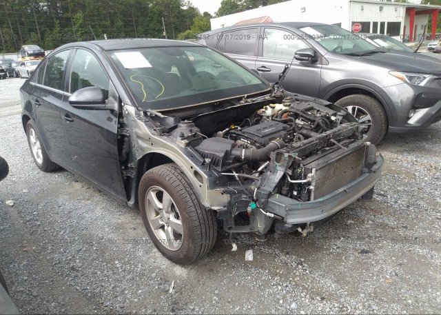 1G1PK5SB6D7196293, Salvage silver Chevrolet Cruze at JACKSON