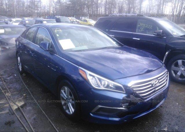Inventory #731307256 2017 Hyundai SONATA