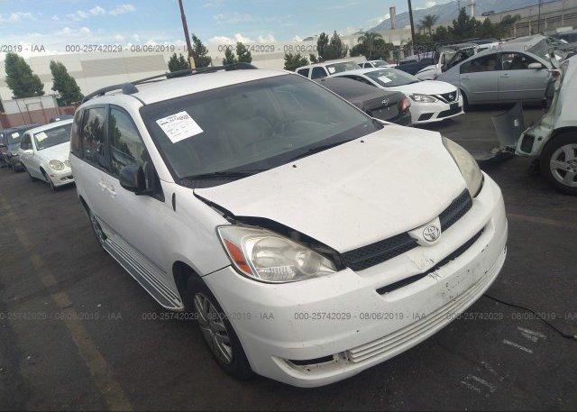 Inventory #507472010 2004 Toyota SIENNA