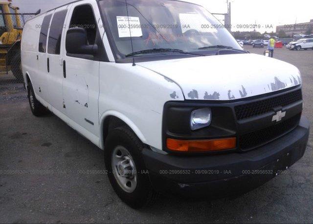 Inventory #785708509 2004 Chevrolet EXPRESS G3500