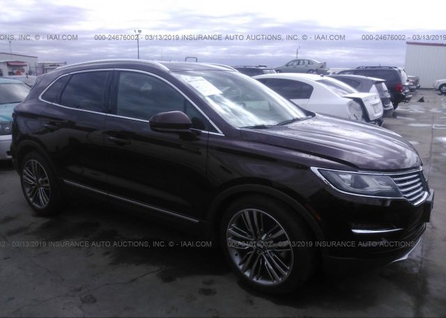 Inventory #291367101 2016 Lincoln MKC