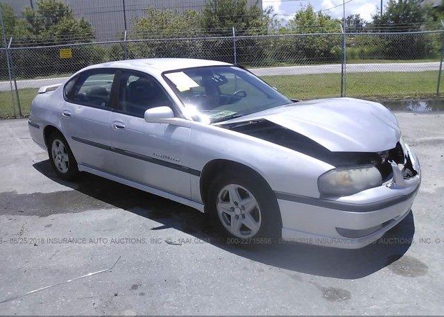 Inventory #686363041 2002 Chevrolet IMPALA