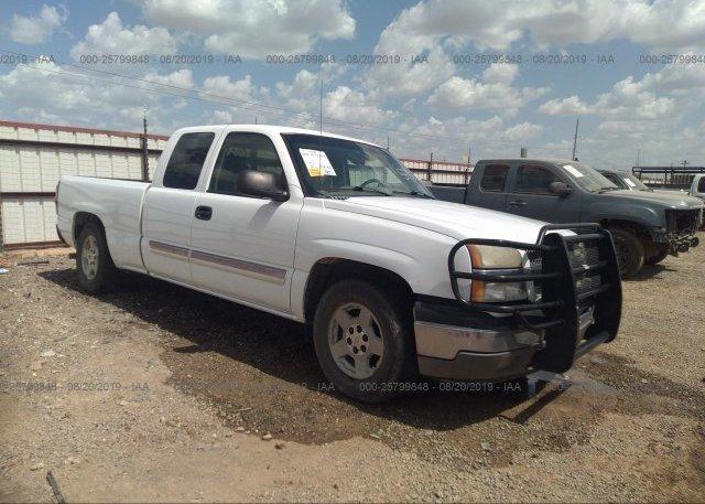 Inventory #621920833 2005 Chevrolet SILVERADO