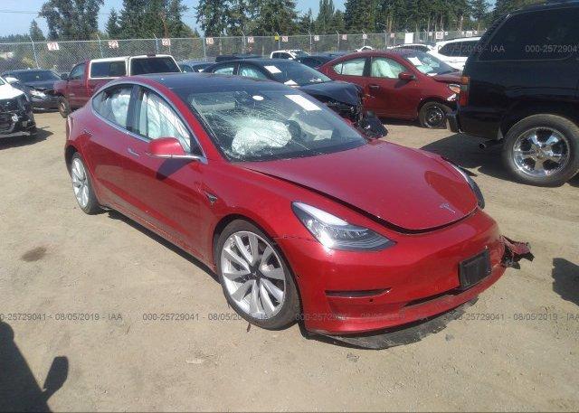 Inventory #427459567 2018 Tesla MODEL 3