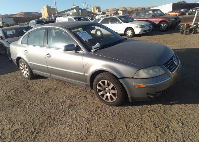 Inventory #862582094 2003 Volkswagen PASSAT